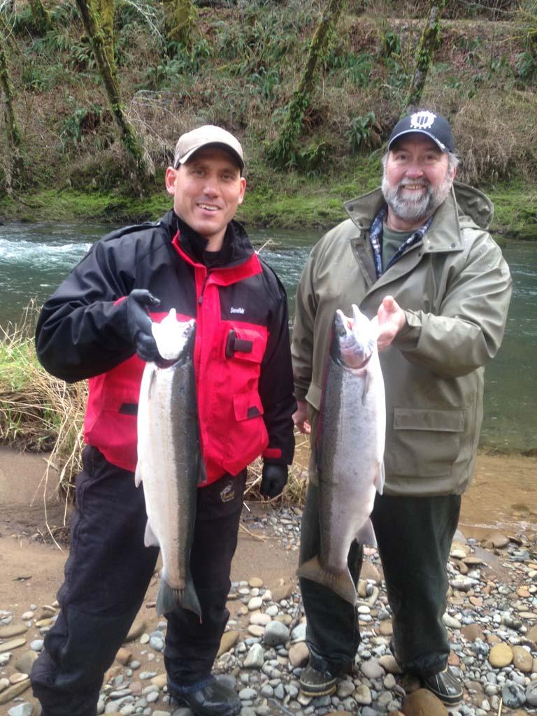 Oregon Steelhead And Salmon Fishing Guide A Helfrich